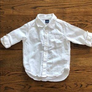Baby Gap linen shirt